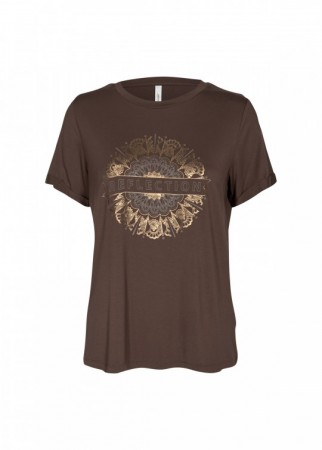 Marica T-shirt Brown