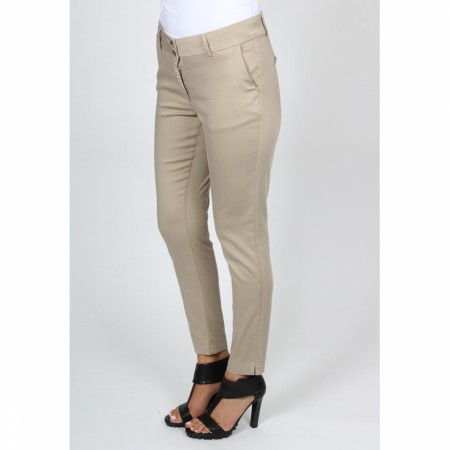 Chino Pants Dark Sand