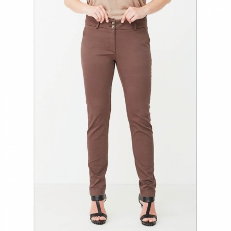 Chino Pant Long Brown