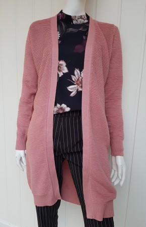 M.A.P.P - Mimi lang cardigan, Dusty rose